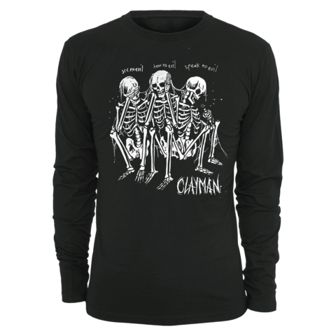 √Speak No Evil von Clayman Limited - Long-sleeve jetzt im Clayman Ltd Shop
