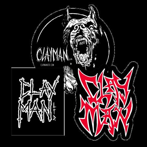 √Clayman Patch Set von Clayman Limited - 3er Aufnäher Set jetzt im Clayman Ltd Shop