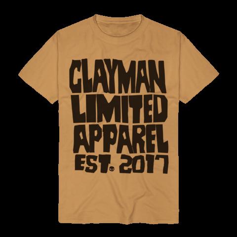 √Clayman Est. 2017 von Clayman Limited - T-Shirt jetzt im Clayman Ltd Shop