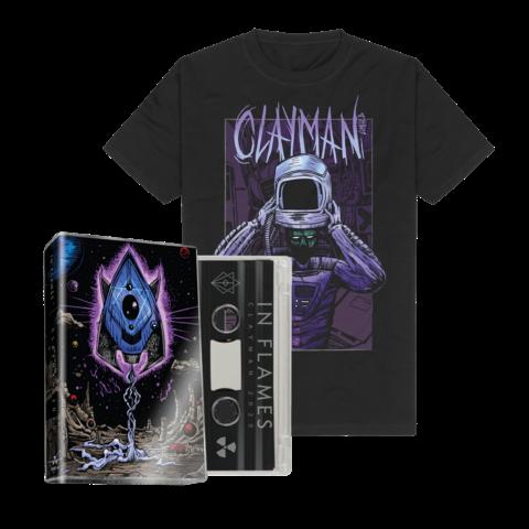 √Clayman (20th Anniversary) - Ltd. MC + T-Shirt Bundle von In Flames - music bundle jetzt im Clayman Ltd Shop
